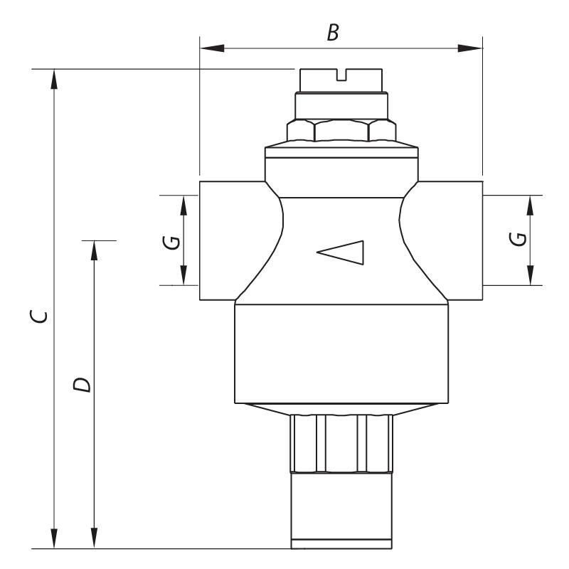 Редуктор давления KOER KR.1251 1'' (KR2662)