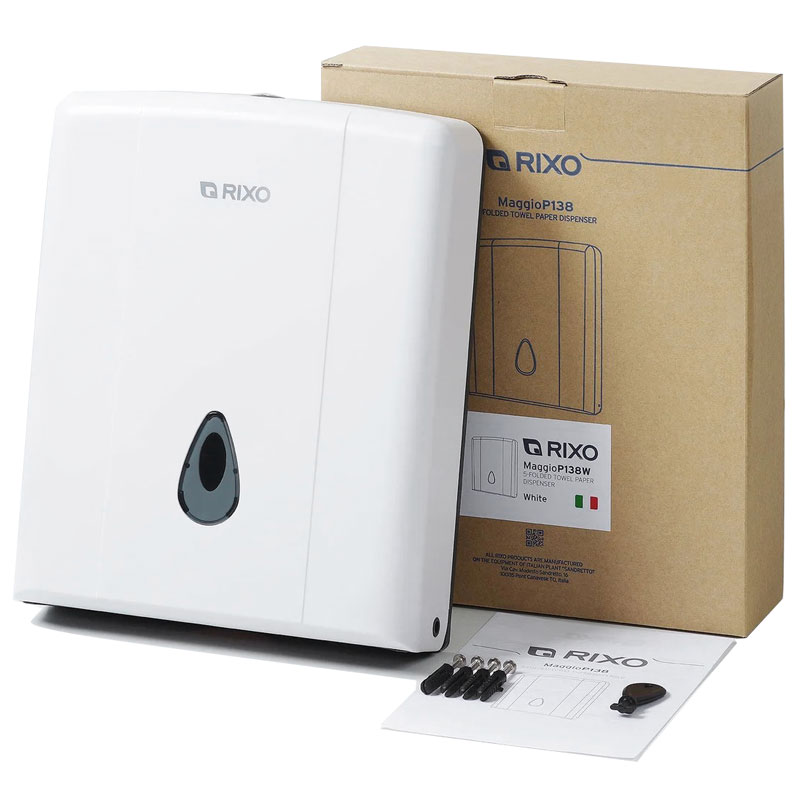 Диспенсер бумажных полотенец Rixo Maggio (P138W)