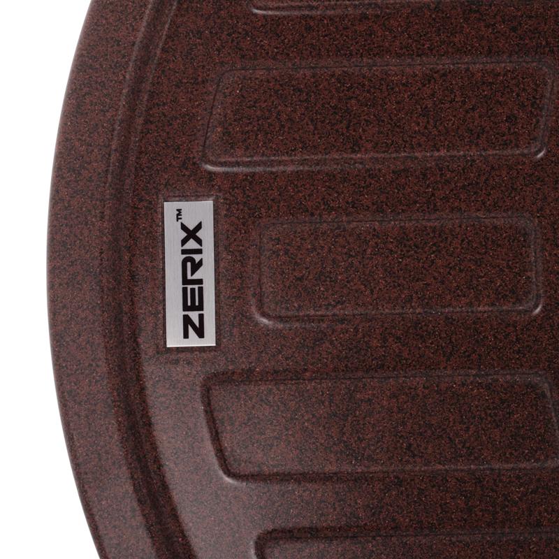 Мойка кухонная ZERIX ZS-6250R-12 Коричневая (ZX4552)