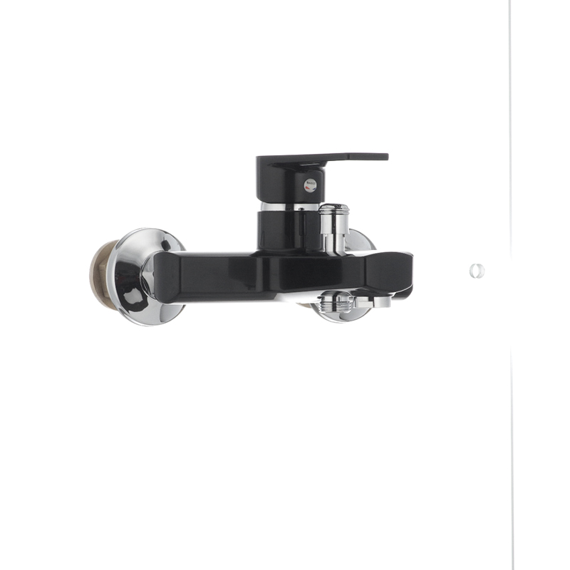 Змішувач для ванни PLAMIX Oscar-009 чорний (без шланга і лійки) (PM0027) - 1