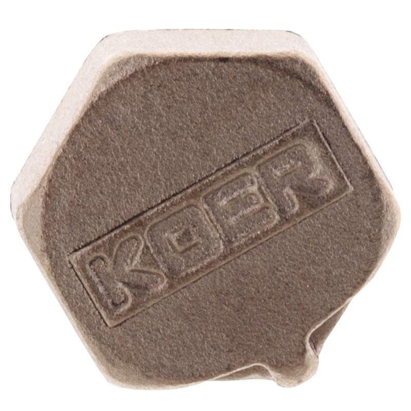 Заглушка KOER KF.P06F.WN - 1/2'' В (без никеля) (KR3022)