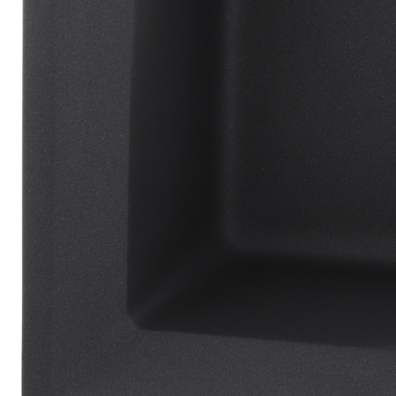 Мойка кухонная HAIBA HB8104-G228 GRAY 780x500x200 (HB0988)