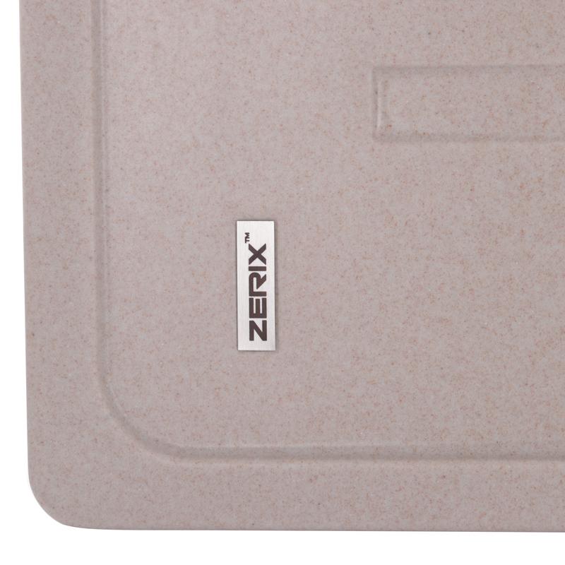 Мойка кухонная ZERIX ZS-6243S-06 Бежевая (ZX4573)
