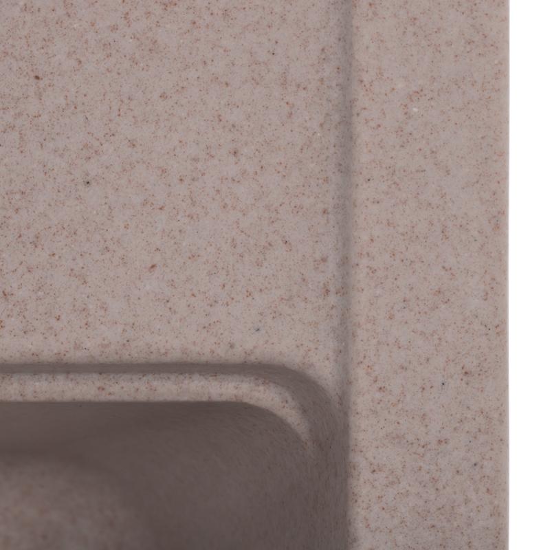 Мийка кухонна ZERIX ZS-5751S-06 Бежева (ZX4597)