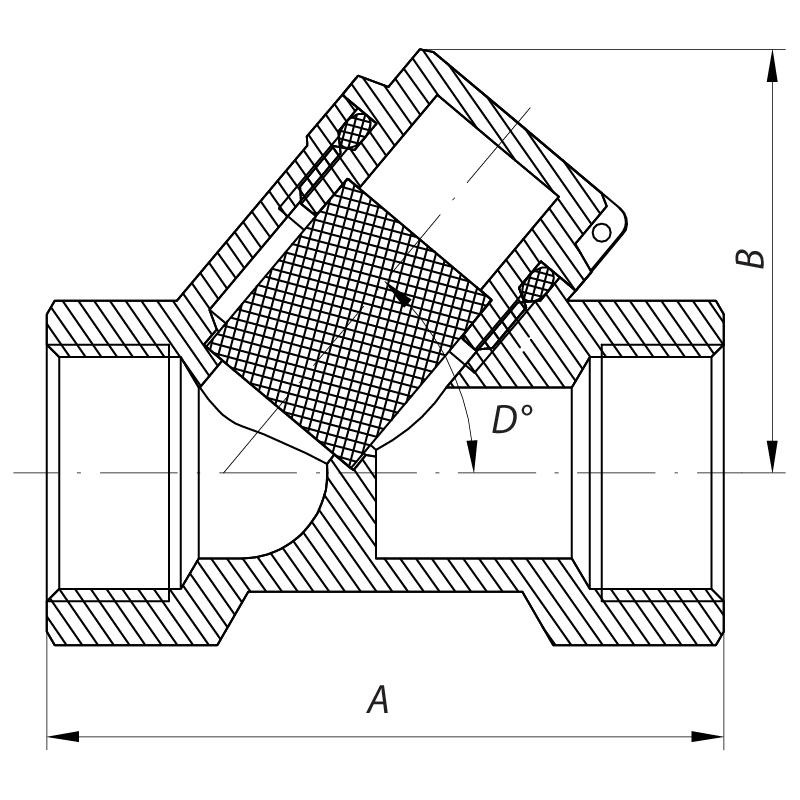 Фильтр грубой очистки EUROPRODUCT EP.0108 - 20 PPR (EP4033)