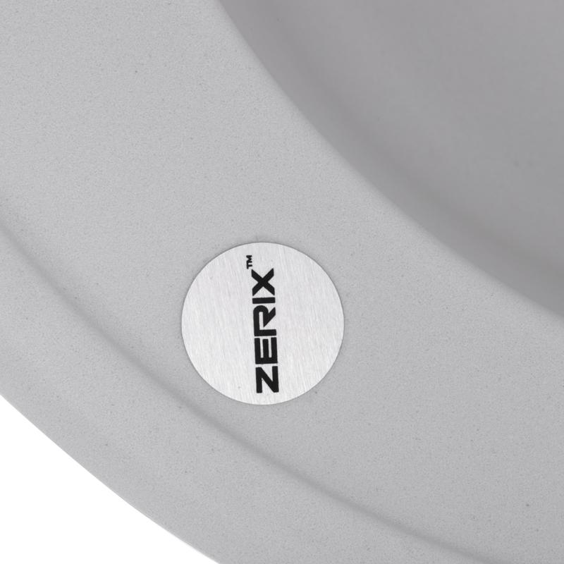 Мойка кухонная ZERIX ZS-510R-01 Белая (ZX4531)