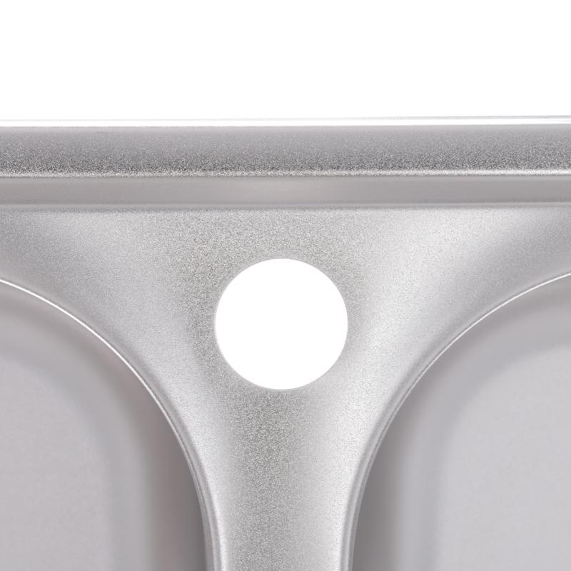 Мийка кухонна ZERIX Z7749-08-180E (satin) (ZM0565)