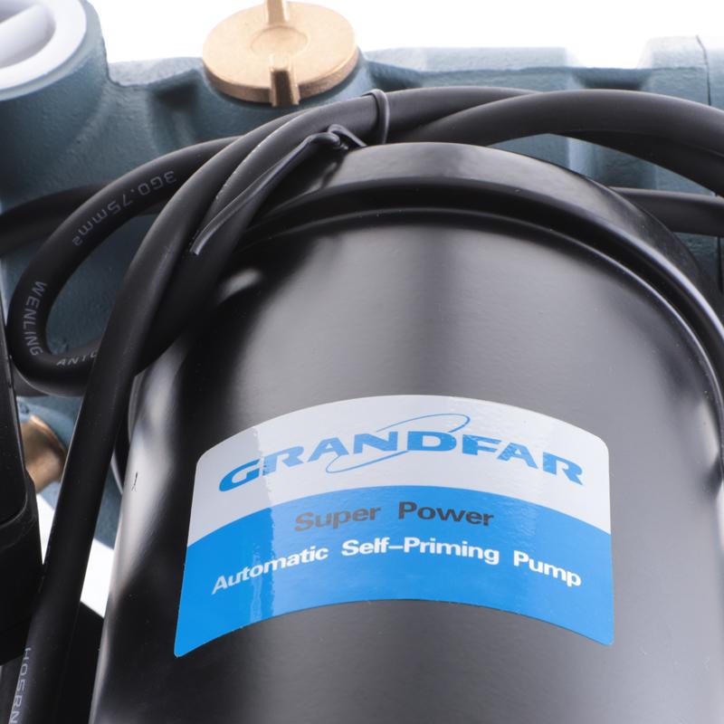 Установка підвищення тиску GRANDFAR 1AWZB750 на базі вихрового насоса (750Вт, обм-мідь) (GF1365)