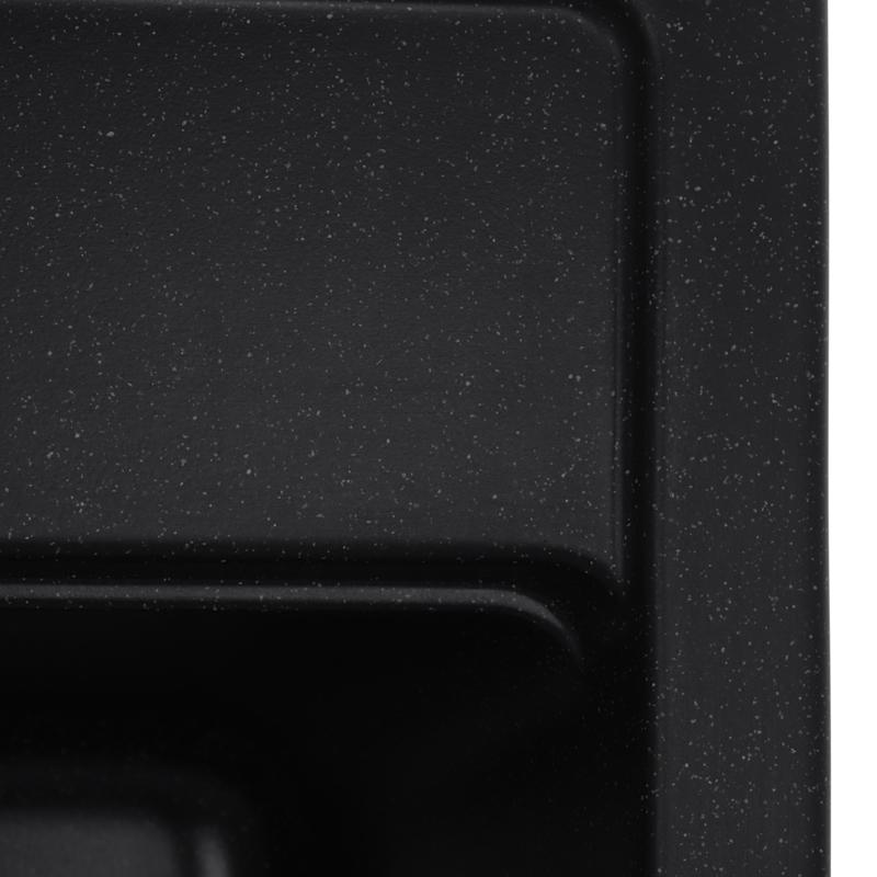 Мойка кухонная ZERIX ZS-5751S-03 Черная (ZX4596)
