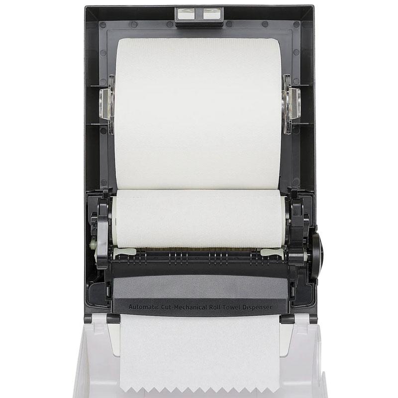 Диспенсер бумажных полотенец полуавтоматический Rixo Maggio (P088W)