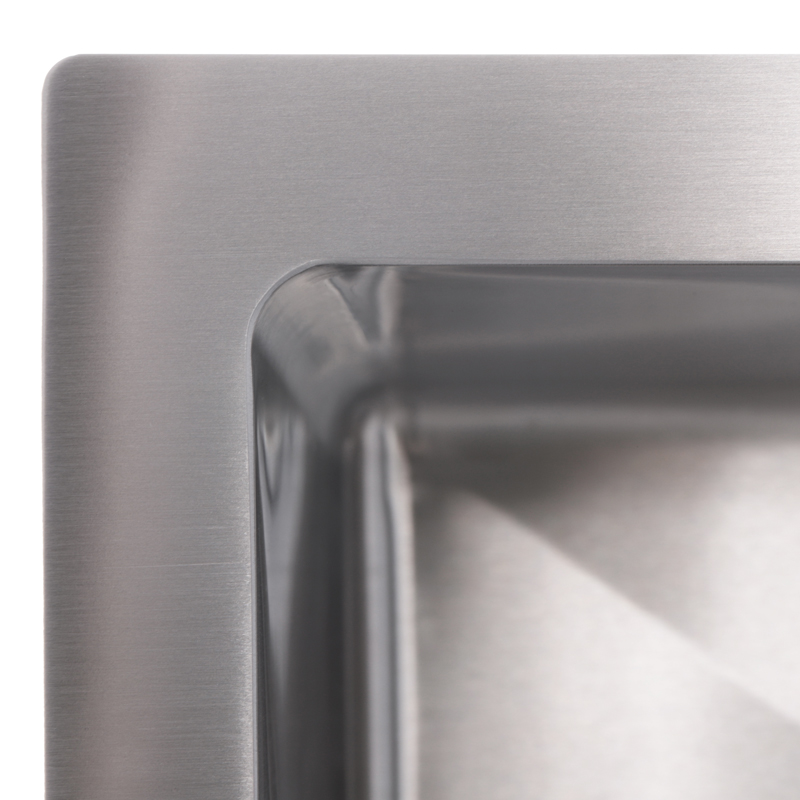 Мойка кухонная ZERIX ZUS6045(1)-HM (ZM0570)
