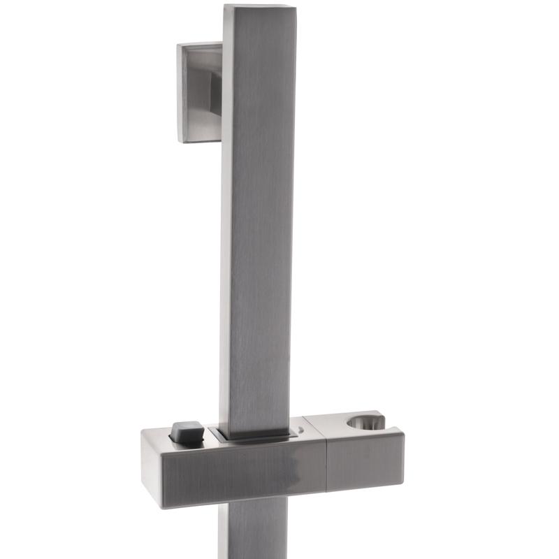 Душова стійка ZERIX LR78002-3 (нерж. сталь) (LL1631)