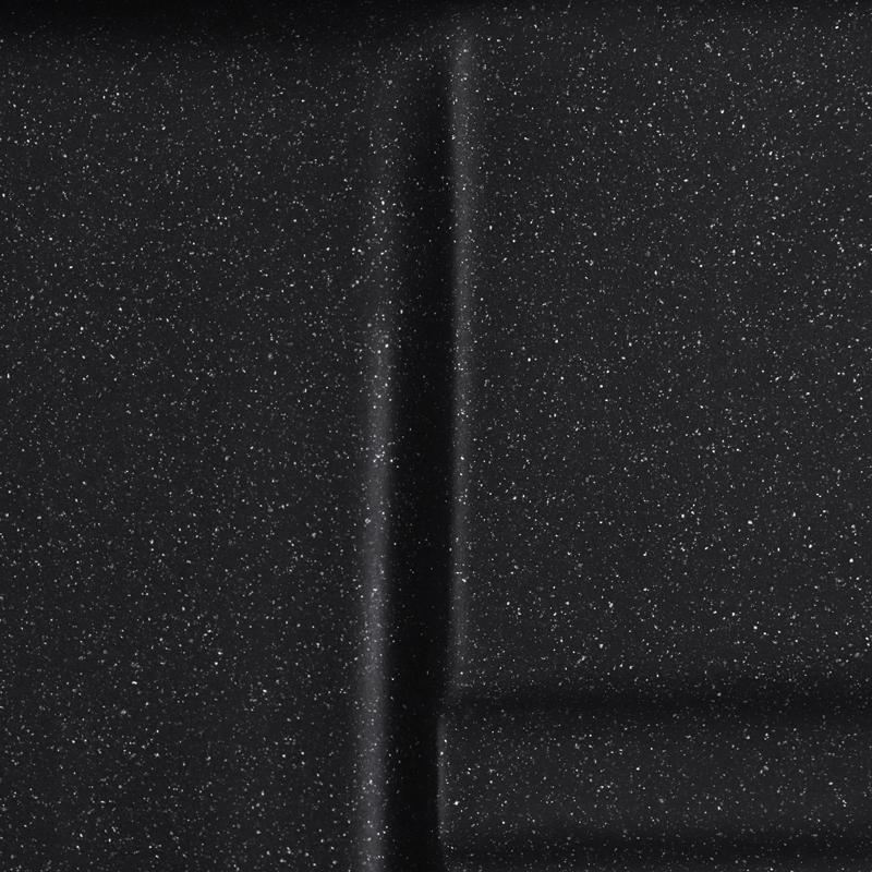 Мийка кухонна HAIBA HB8210-G226 BLACK 620x500x200 (HB0983)