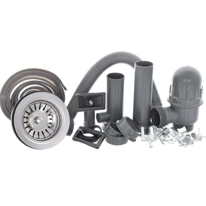 Мойка кухонная HAIBA 67x44 (polish) (HB0558)