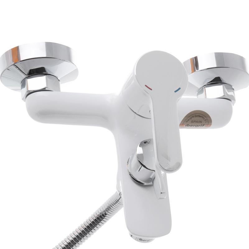 Змішувач для ванни IBERGRIF SQUARE M13222W (IB0033)