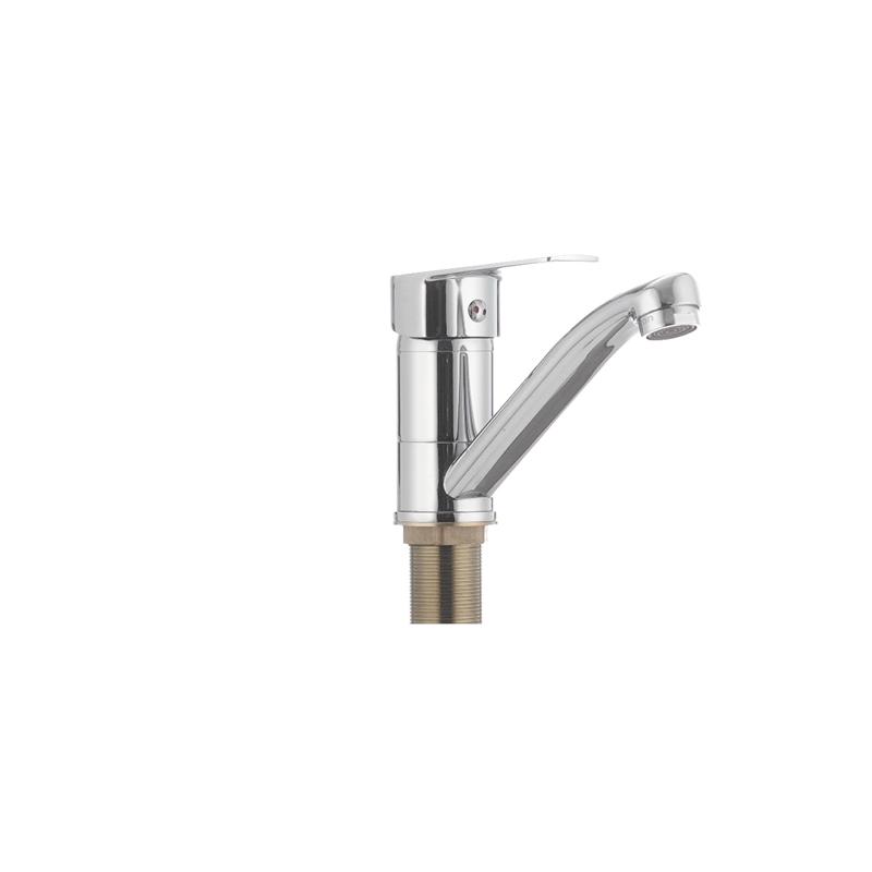 Смеситель для умывальника CRON OMEGA 555 (излив 15 см) (10 шт/ящ) - 1