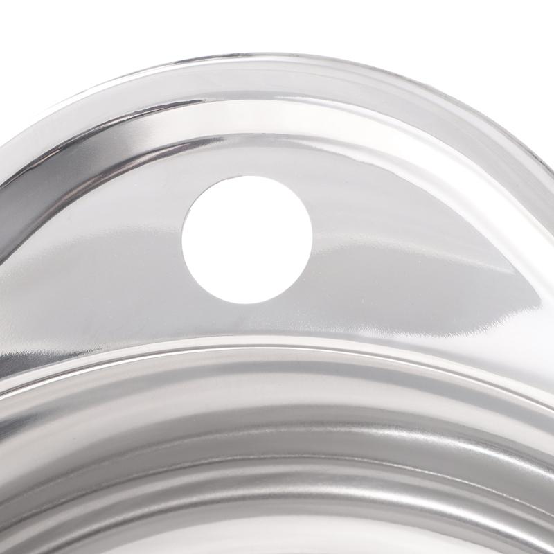 Мойка кухонная ZERIX Z4843-06-160P (polish) (ZS0565)