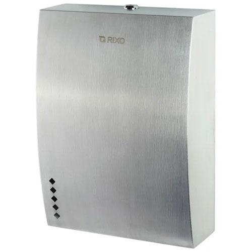 Диспенсер бумажных полотенец нержавеющая сталь Rixo Solido (P137)
