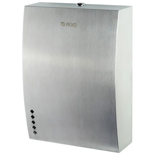 Диспенсер паперових рушників нержавіюча сталь Rixo Solido P137