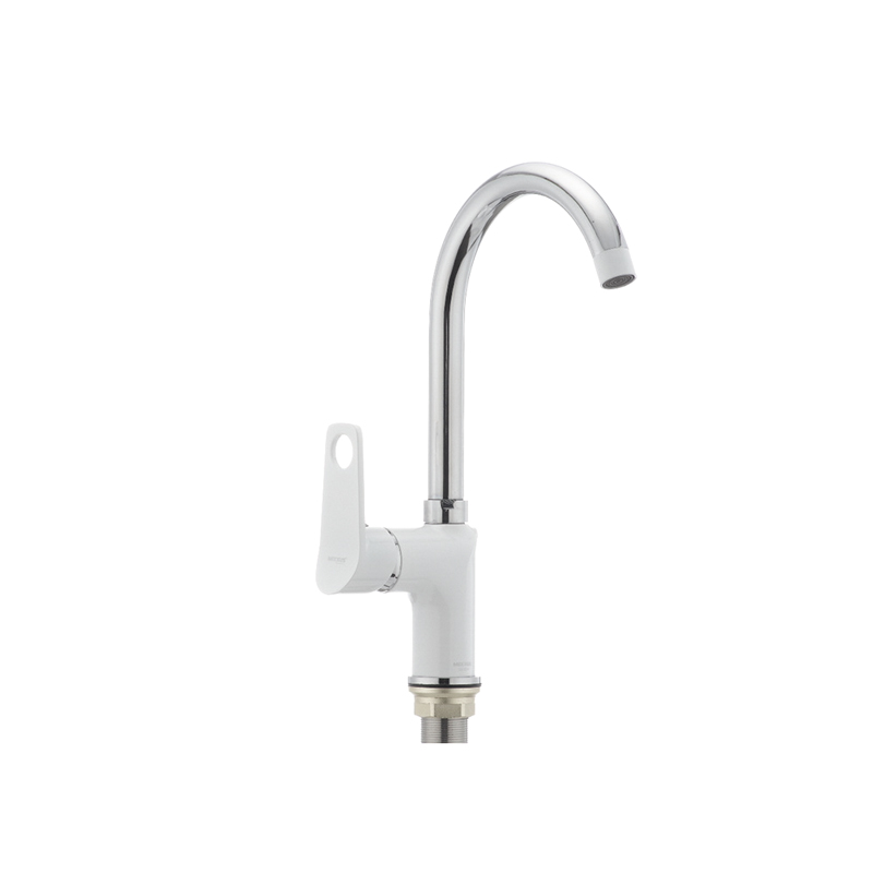 Кухонный смеситель белый MIXXUS Dallas 014 (MX0030) - 1