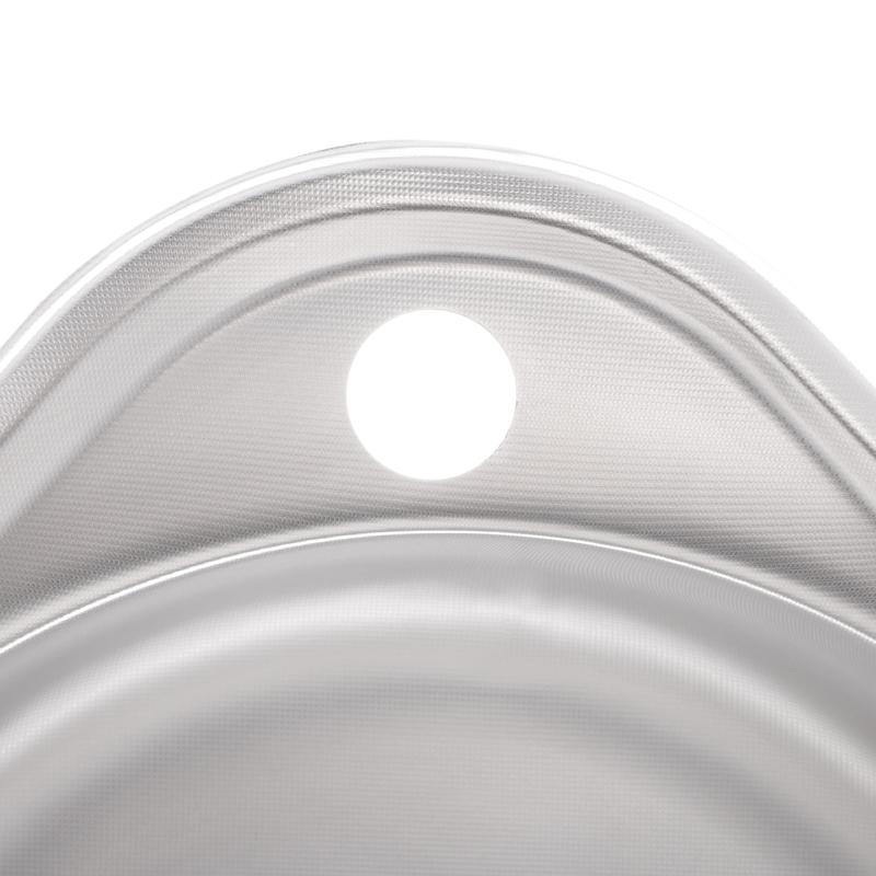 Мийка кухонна ZERIX Z4843-08-180MD (micro decor) (ZS0568)