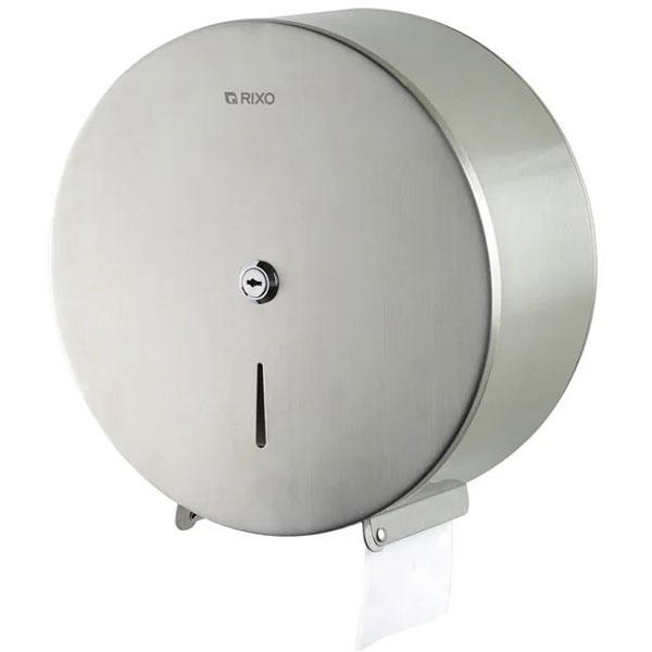 Диспенсер туалетной бумаги нержавеющая сталь Rixo Solido (P005)
