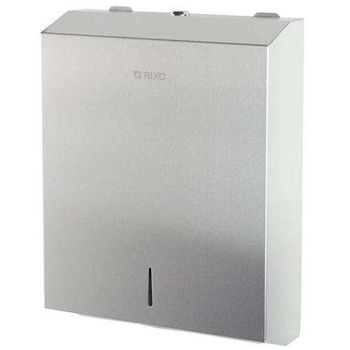 Диспенсер бумажных полотенец нержавеющая сталь Rixo Solido (P133)