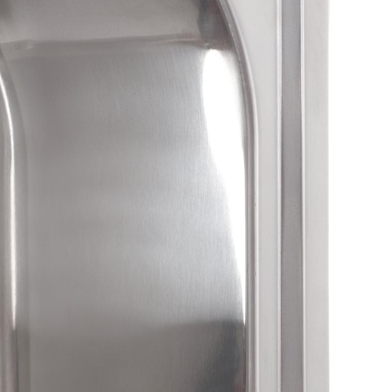 Мойка кухонная HAIBA 49x47 (polish) (HB0536)