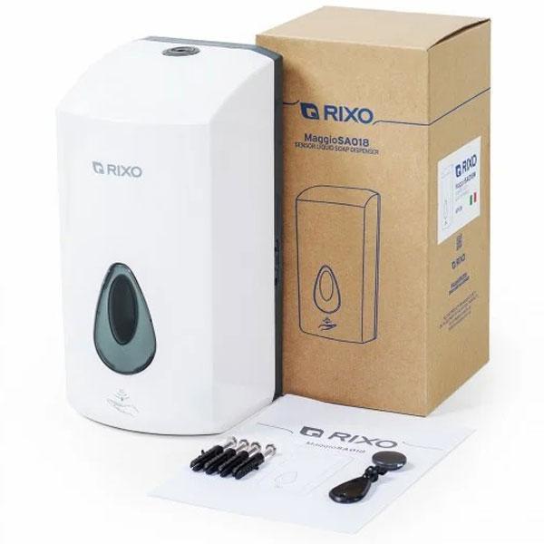 Дозатор антисептика и дезинфицирующих средств сенсорный Rixo Maggio (SA018WS)