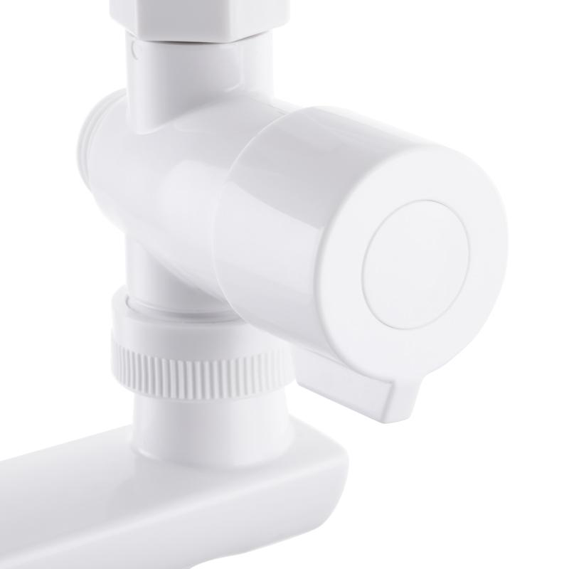 Смеситель для ванны PLAMIX Mario-006(W) Белый (без шланга и лейки) (PM0603)