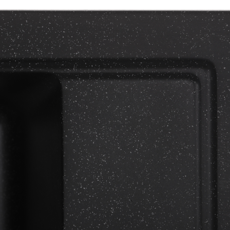 Мойка кухонная ZERIX ZS-4651S-03 Черная (ZX4564)