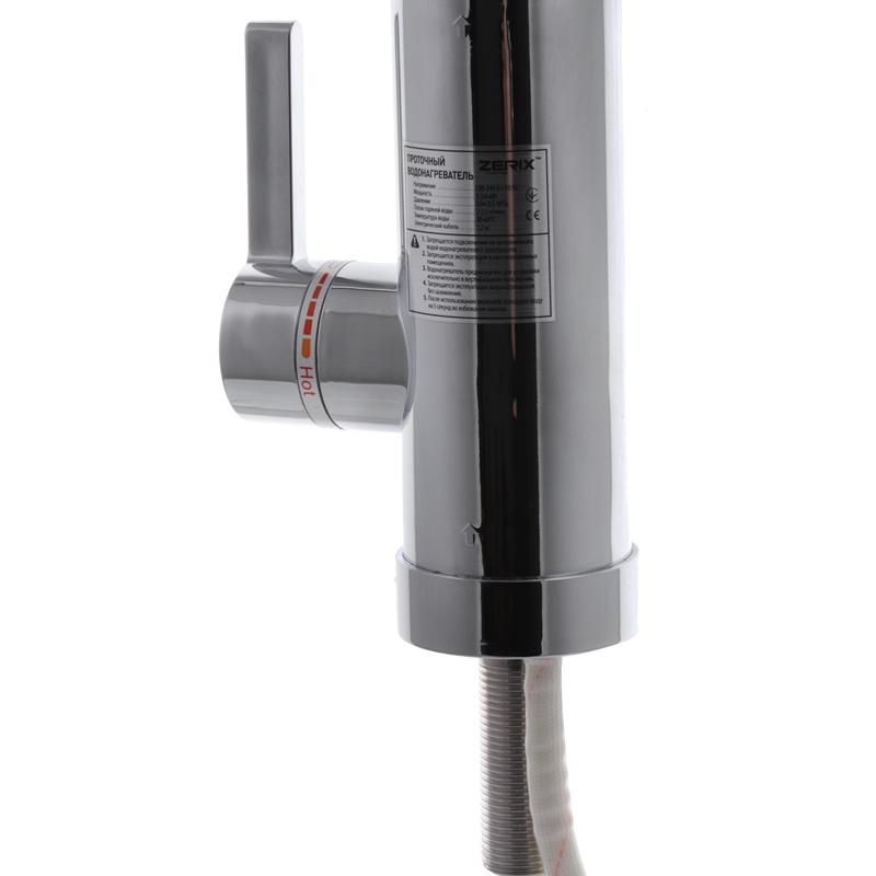 Проточний водонагрівач ZERIX ELW09-EP (з індик. темп. І УЗО) (ZX2808)