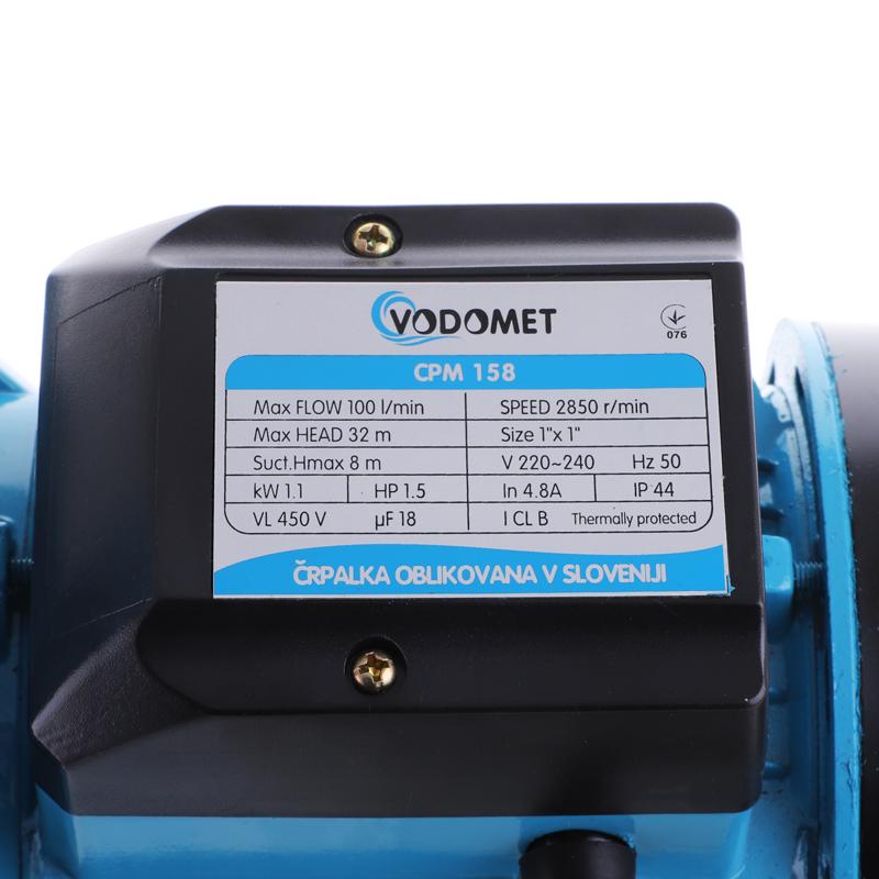 Насос поверхн. центробежный VODOMET JET100, CPM158 (VO0022)