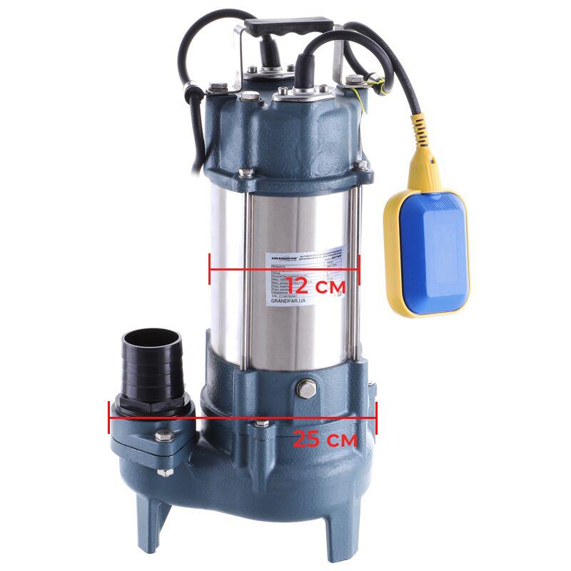 Канализационный насос для грязной воды (с поплавк. выкл.) GRANDFAR GV450F (GF1095)