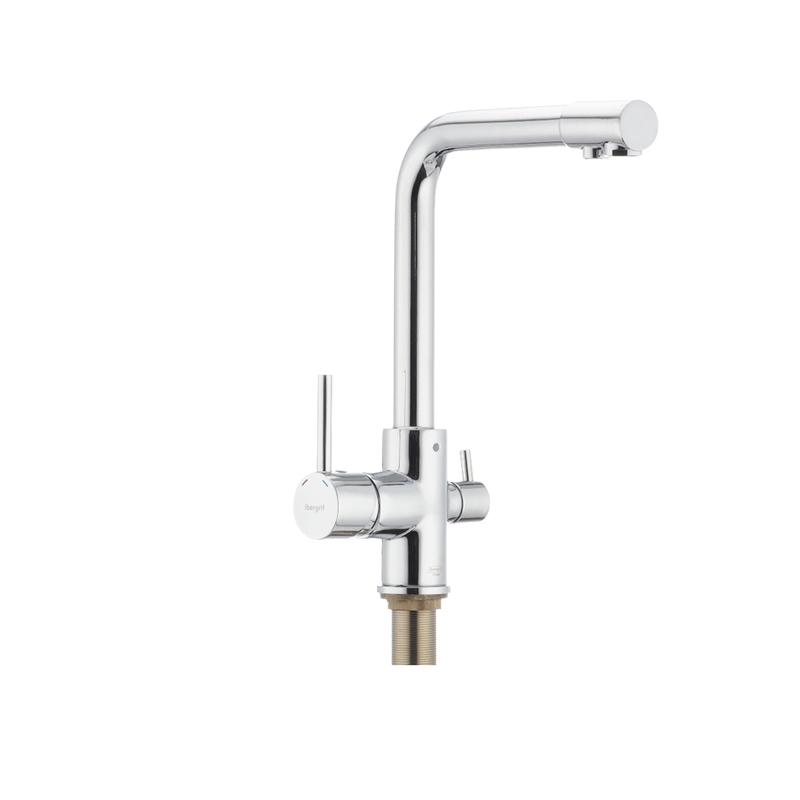 Смеситель для кухни с выходом для питьевой воды IBERGRIF M22109 (IB0074) - 1