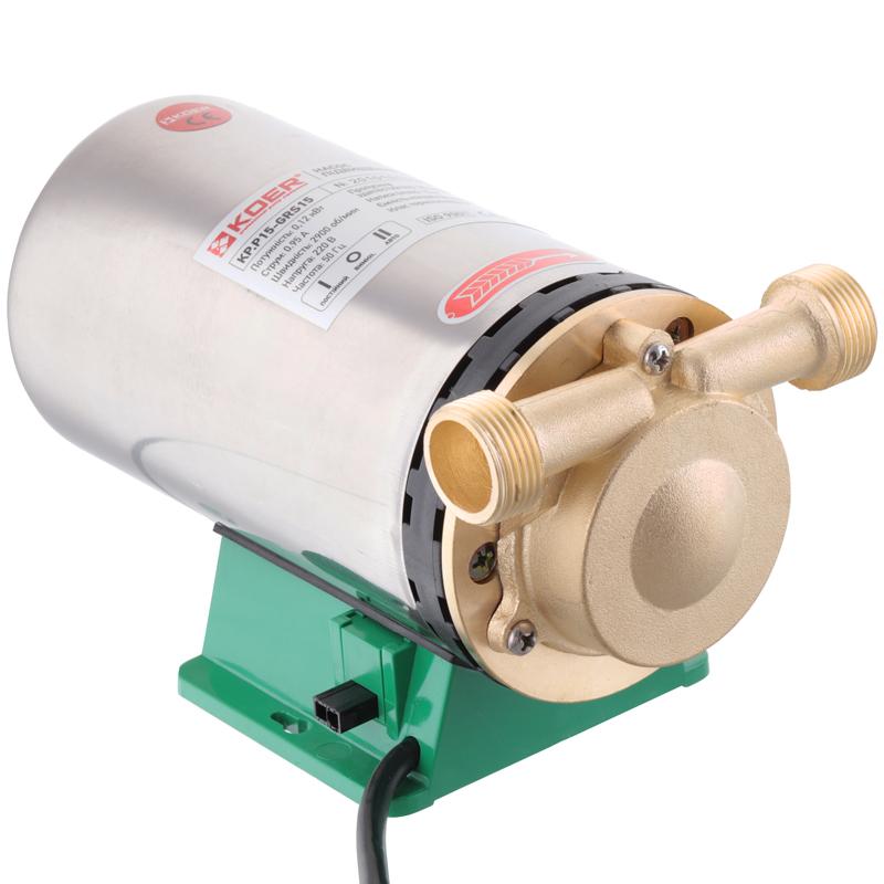 Насос підвищення тиску KOER KP.P15-GRS15 (з гайками, кабелем і вилкою) (KP0255)