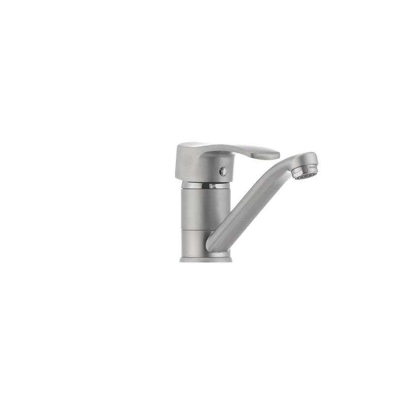 Змішувач для умивальника Haiba FOCUS 004 матовий (вилив 15 см) (HB0116) - 2