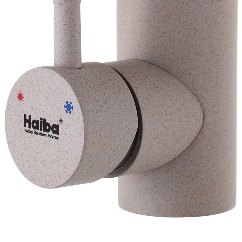 Смеситель для кухни HAIBA SUS 011 песочный (HB0995)