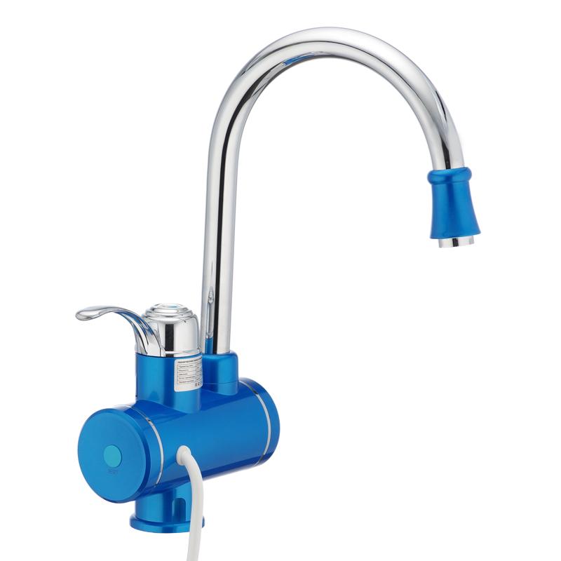 Проточный водонагреватель MIXXUS Electra 240-E Blue   (с индик. темп.) (MI2747)