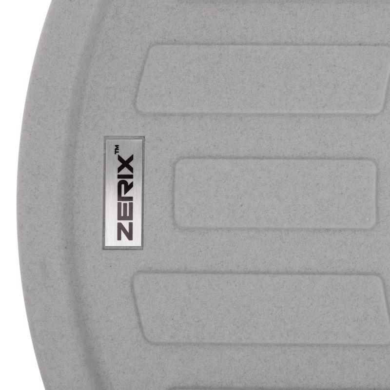 Мийка кухонна ZERIX ZS-6250R-09 Сіра (ZX4551)