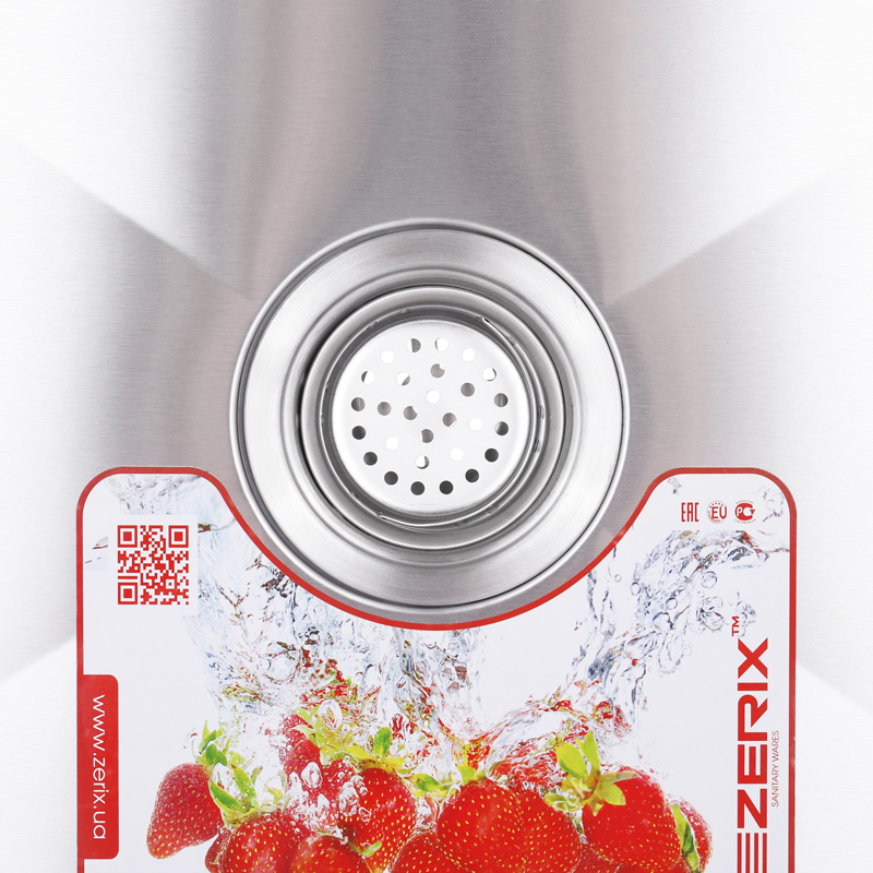 Мойка кухонная ZERIX ZUS6545-HM (ZM0572)