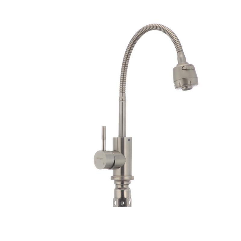 Смеситель для кухни MIXXUS SUS-011 (рефлекторный излив) (SS0006) - 1