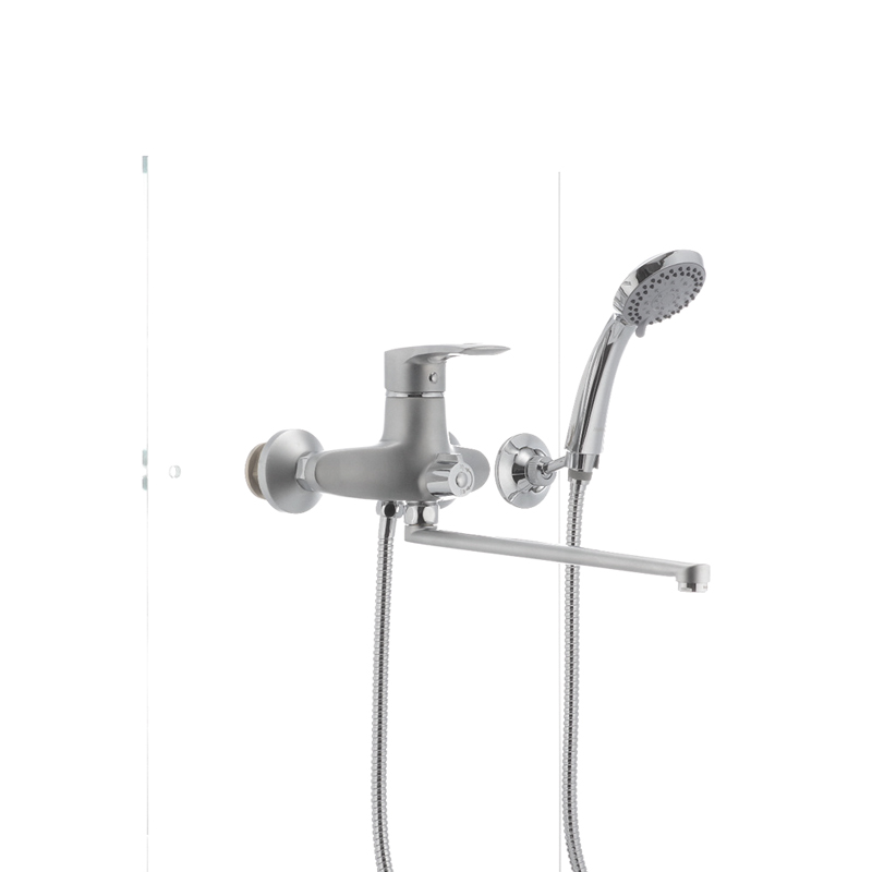 Смеситель для ванны Haiba HANSBERG 006 матовый (HB0193) - 1