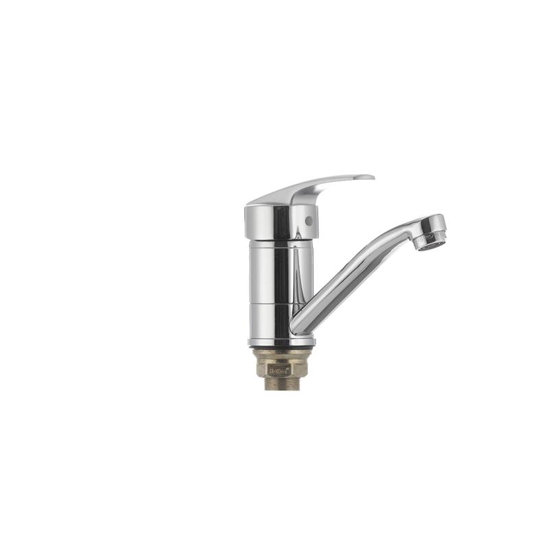 Смеситель для кухни Haiba AGAT 555 (излив 15 см) (HB0010) - 2