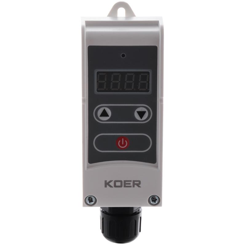 Термостат електричний занурювальний KOER KR.1353E (+5…+80*C) (KP2780)